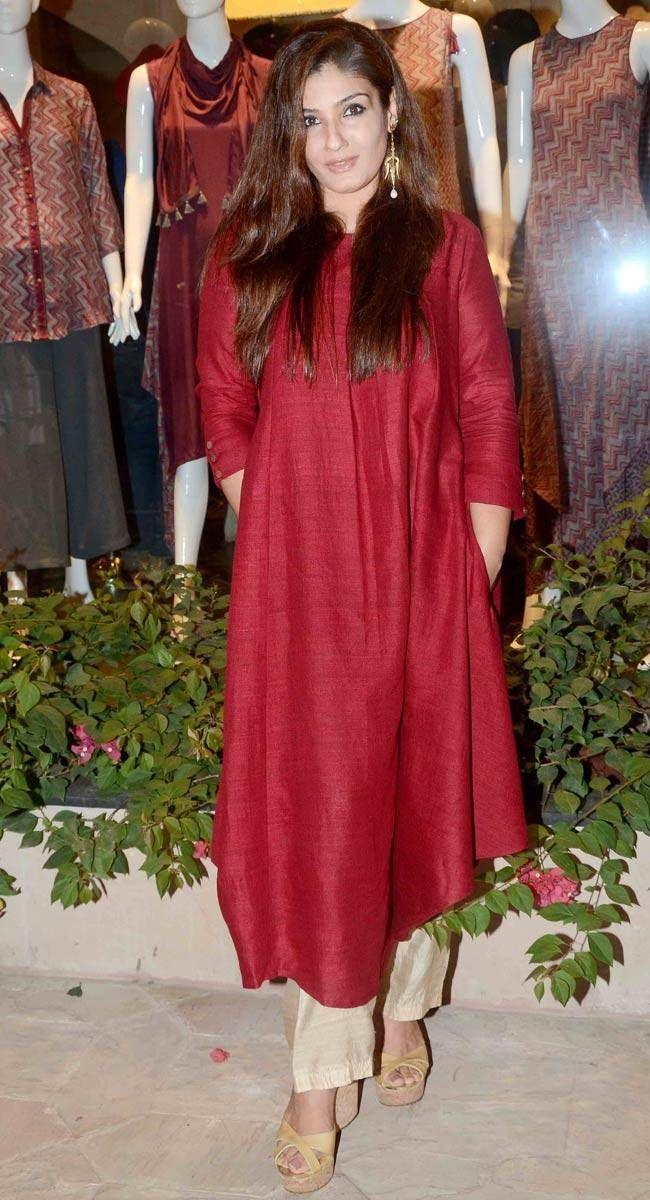 kurta with red palazzo - Google Search