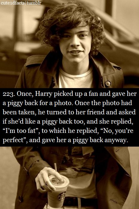 My heart just melted.what a gentleman: Harry Styles Quotes, Awww 3, Be Nice, Aww Harry, D Awwwwww, Harry ️Styles Quotes, Boy