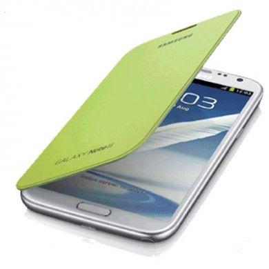 Estuche Samsung Galaxy Note 2 Original Flip Cover - Verde Pistacho