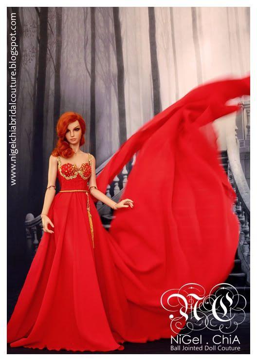 Red Magic Dress