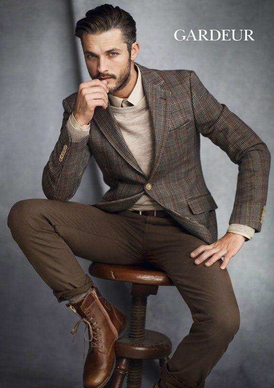 Ben Hill Male Model, Men's Fashion, Beard, Shirtless, Eye Candy, Handsome, G…