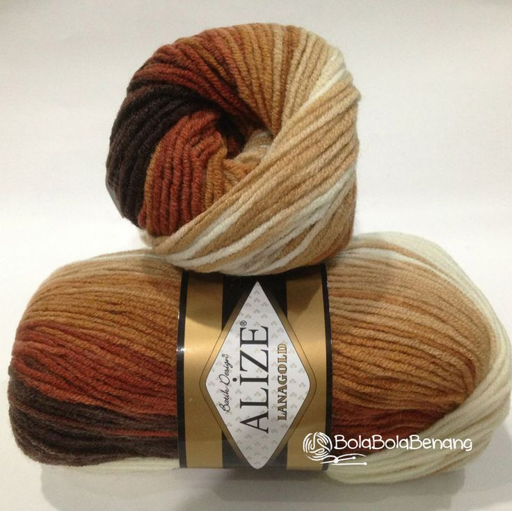 LANAGOLD BATIK 2626, Price: Rp.100.000,- /gulung, Bahan: 49% Wool – 51% Acrylic, Berat/Panjang: 100gr/240m, Knitting Needles: 4mm –6mm, Crochet hook: 5mm - 6mm