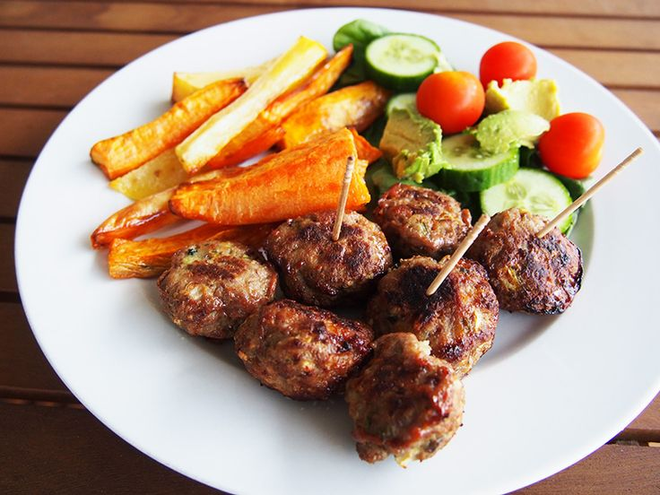 Honey Mint Lamb Meatballs in the Thermomix