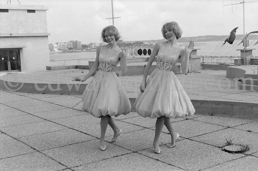 Alice & Ellen Kessler - Germany - Place 8 - Eurovision Song Contest 1959