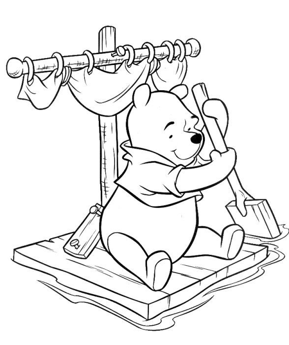 76 best Hobby colouring pages Winnie