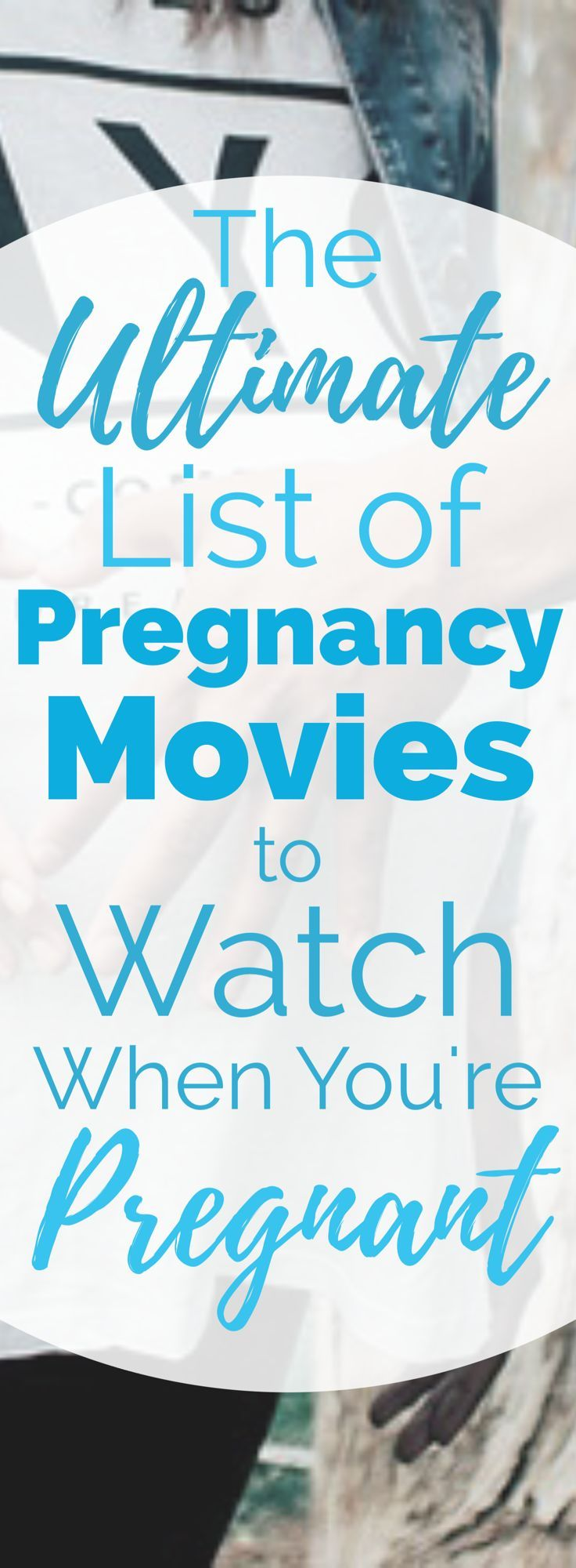 The BEST Pregnancy Movies to Watch When You're Pregnant | When you're tired and laying on the couch or in bed during pregnancy, watch one of these amazing movies about pregnancy! A great list to keep on-hand for a pregnancy movie night in.
