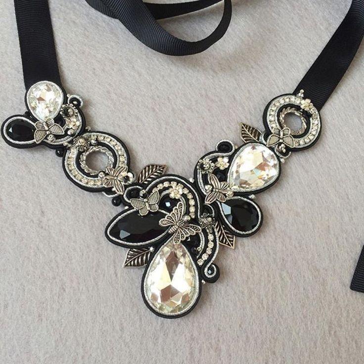 Soutache necklace …