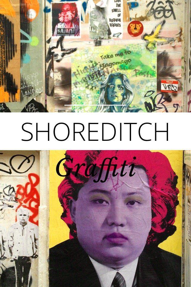 Shoreditch Graffiti: Graffiti, Stories, Shoreditch