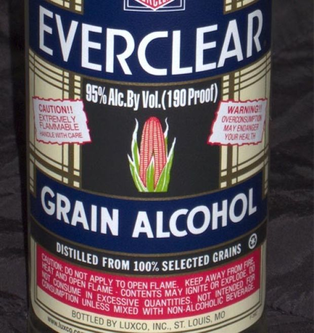 Everclear This crystal clear vodka is very dangerous when drunk straight, but is perfect for mixing with less potent drinks. Currently, it is still banned in many states in US and Canada. Read more at http://the10mostknown.com/10-strongest-alcohol-shots/#DVTFxdYVCpAoDfWv.99
