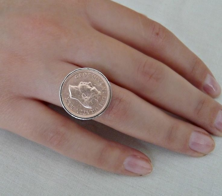 DIY Penny Ring + How to Clean Copper with Baking Soda and