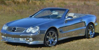 ✨  Chrome Sprayed Mercedes