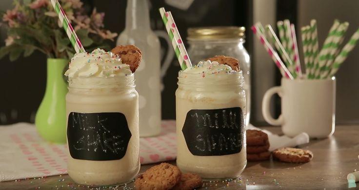 receita: Milkshake Cookies n' Cream i