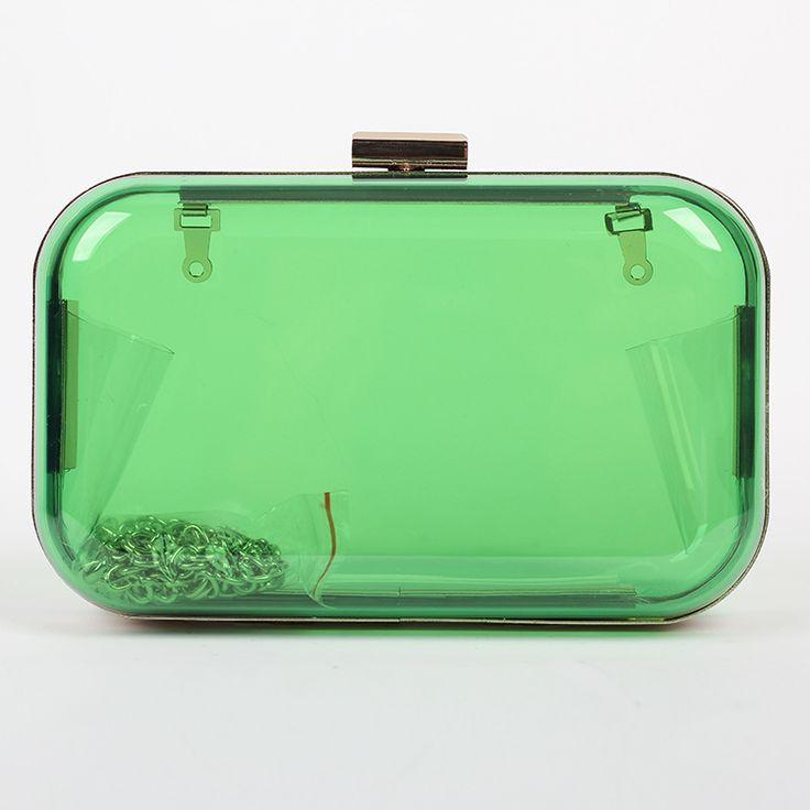 Avec Logo de la marque femmes embrayages Perfume Bottle Shape sac boîte transparente en plexiglas de soirée sacs sacs à bandoulière belle acrylique embrayage(China (Mainland))