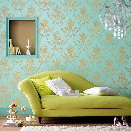 133 best Wallpaper images on Pinterest Wall papers, Wallpaper - goldene tapete modern design