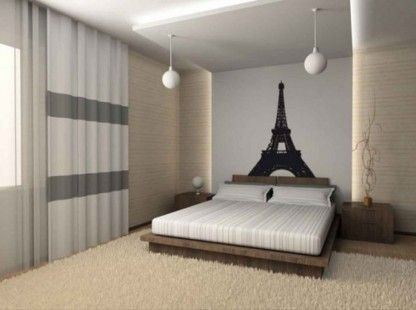 http://www.bawtie.com/comfortable-cool-room-decor/ Comfortable Cool Room Decor : Cool Paris Themed Room Decorating Ideas And Items