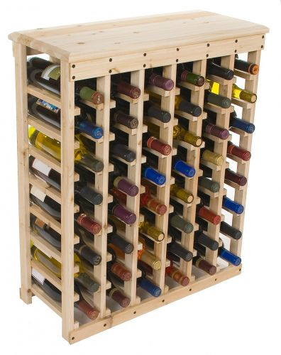 But using something better looking than the nails to hold the bottles on the rack although Additional wine rack plans