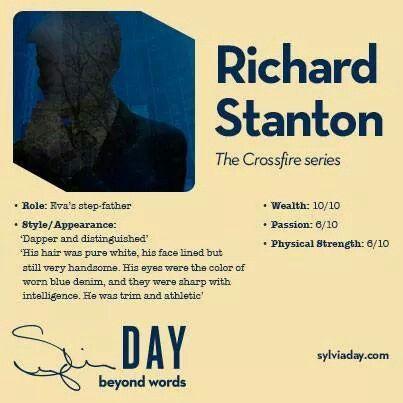 Richard Stanton - Crossfire Series - Sylvia Day