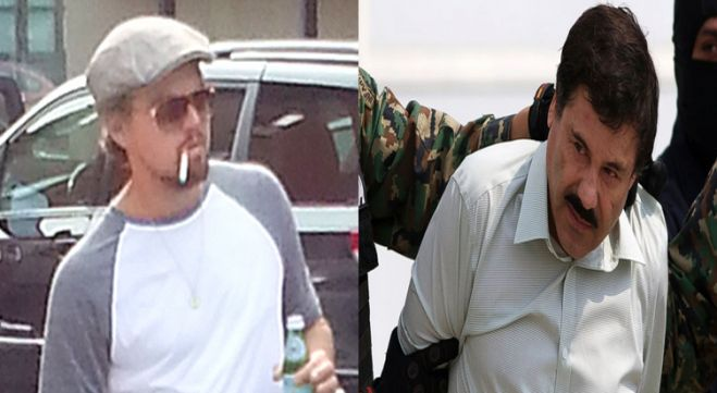 Leonardo DiCaprio Playing 'El Chapo' Guzmán In Movie? 11 Latino Actors Who Would Be Way Better!  Not! This is one of those times when you can't get away with reacting to the headline with a drive-by comment without reading the article (I know, what fun is that?). The real story is that DiCaprio might play a DEA agent in a Ridley Scott movie based on the life of El Chapo. So the question is, who do you think should play the Chapo-like character?