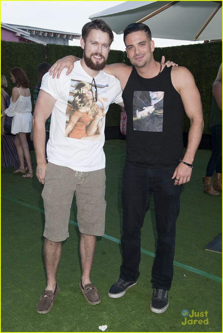 Chord Overstreet & Mark Salling at JJ's Summer Fiesta 2014!
