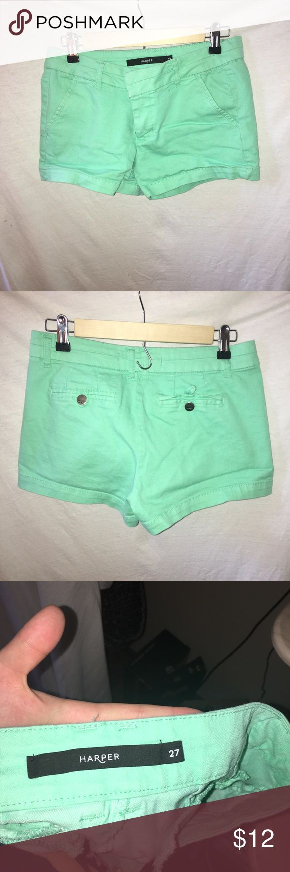 Mint shorts Don't like the price?  Make me an offer!  Always willing to offer discounts on bundles. Harper Shorts