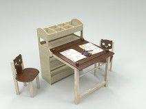 Biurko Małego Artysty
