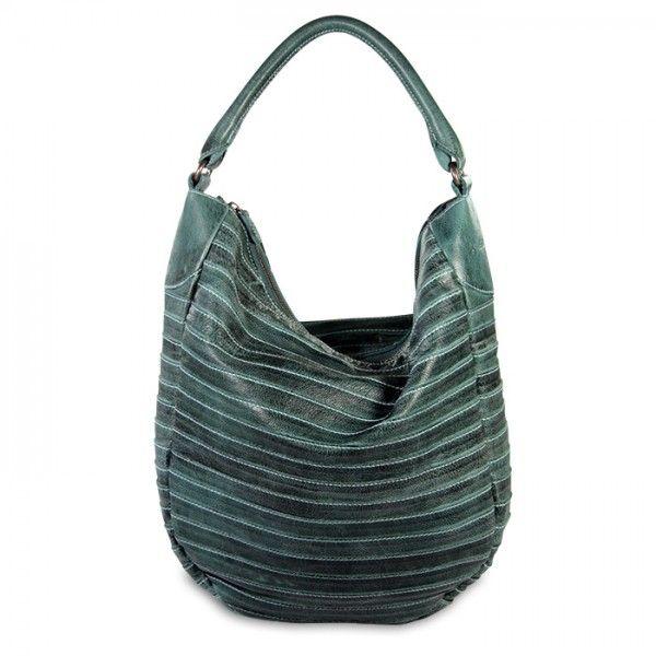 mynewbag.de - #FREDsBRUDER #Gürteltier S Damentasche Leder* #Shopper Beuteltasche turquoise