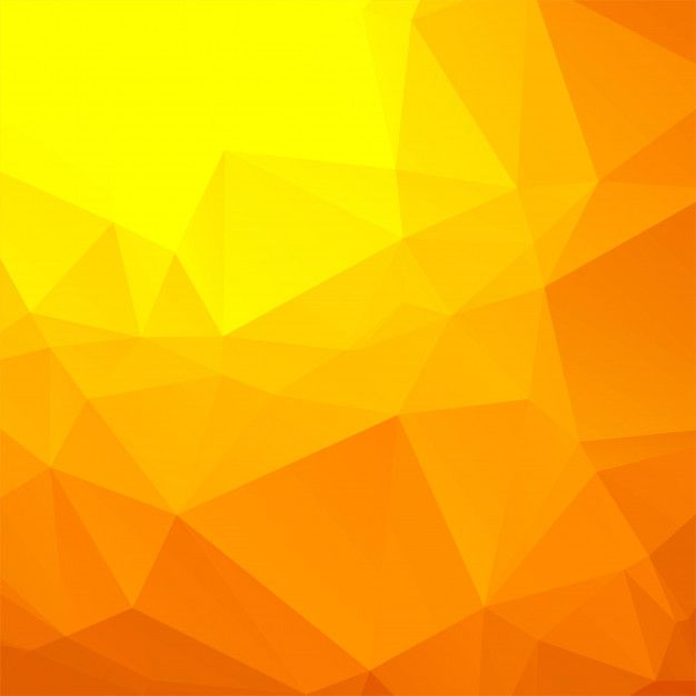 Beautiful Colorful Polygon Background Vector Free Vector Yellow Background Cute Wallpaper Backgrounds Background