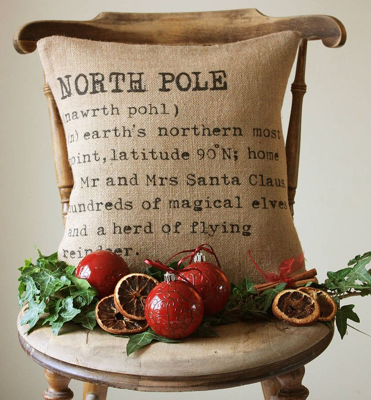 "Cute pillow... wouldn't this be cute with something like ""Star of Bethlehem""?"