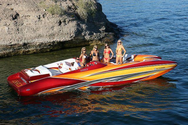 Girls On Boats Lake Havasu   photo   Boating   Pinterest