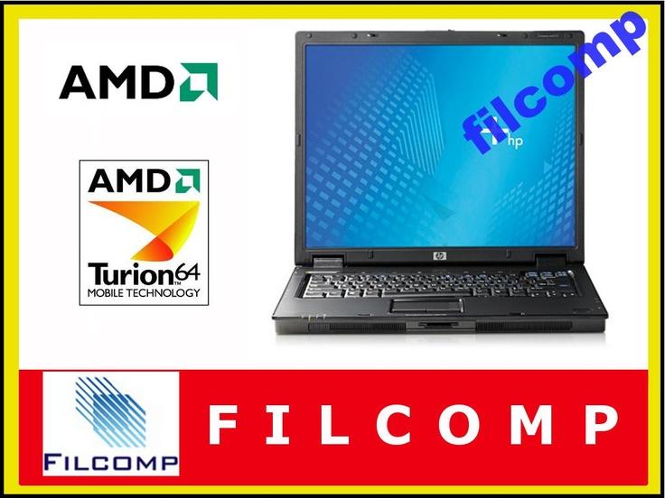 LAPTOP HP NX6325 AMD TURION X2 1,6 1GB RAM 80HDD