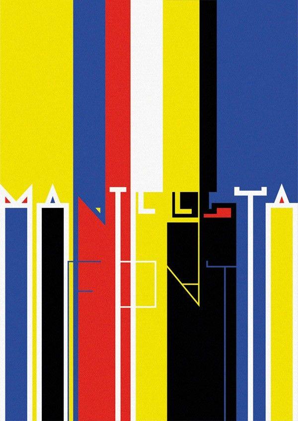 Manifiesta, tipografía geométrica de Fermín Guerrero