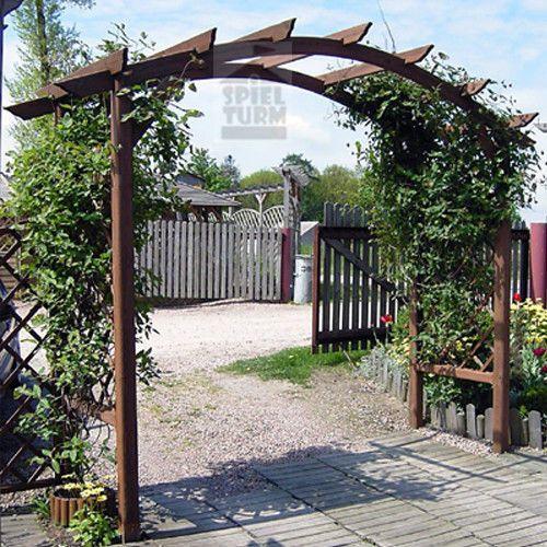 HOQ Gartendekoration Rosenbogen Gartenbogen 2,70 m Breite NEU