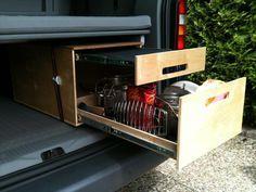 vw bus innenausbau bauanleitungen doppelbett im vw caddy van ausbau moskitonetz kinderbett. Black Bedroom Furniture Sets. Home Design Ideas
