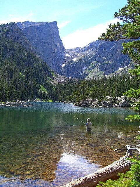 This is the kind of place where you don't have to catch fish to have a good day of fishing.