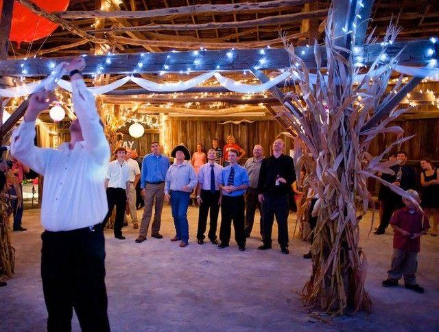 Garter Toss Farm Haven Barn Wedding