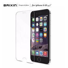2.5d 0.3mm premium vidro temperado protetor de tela para iphone 6 6 s temperado película protetora para iphone 6 4,7 polegadas frete grátis alishoppbrasil
