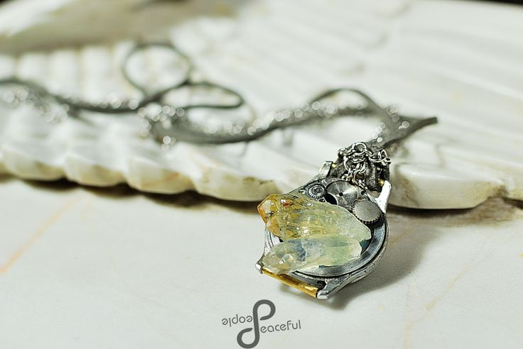 Quartz and Citrine Time Parts https://www.facebook.com/PeacefulPeopleHJ