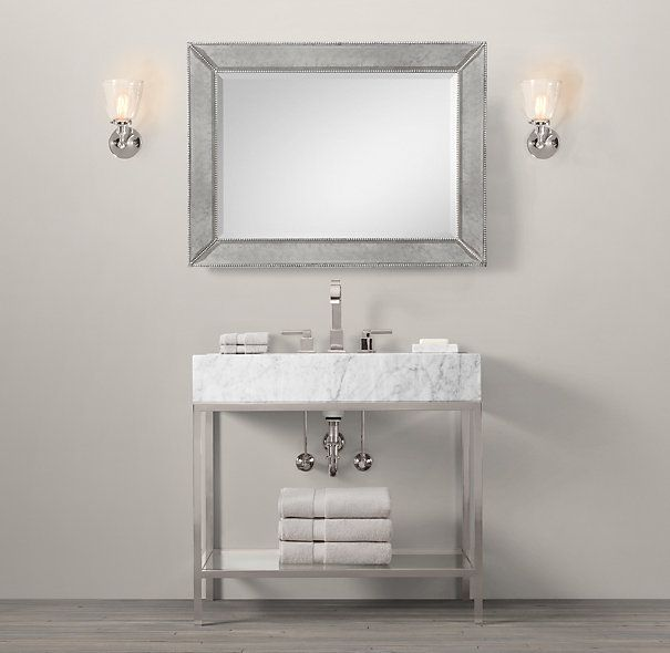 Hudson Metal Single Frame Washstand. 17 Best images about Single Bath on Pinterest   Contemporary