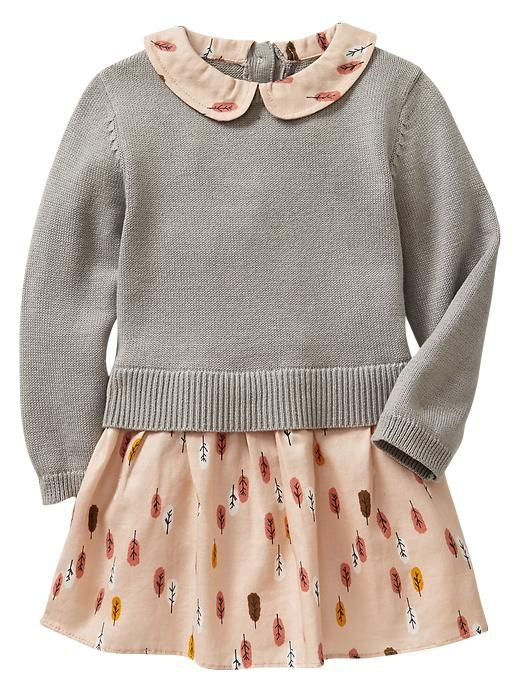 Baby girl dresses and skirts from Gap are adorable, feminine styles. Our cute baby girls dresses and skirts have plenty of ruffles and soft colour options.