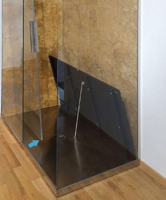 P Dreno Plus è un sistema doccia caratterizzato da un frontalino a vista che permette al piatto doccia di poter essere montato in appoggio al pavimento. #doccia #design #interni #architettura