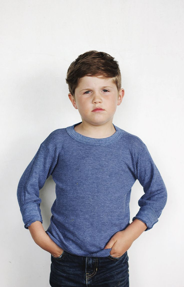 How To: Modern Haircut for Boys @themerrythought  His hair type looks similar to Boden's. So does his attitude.