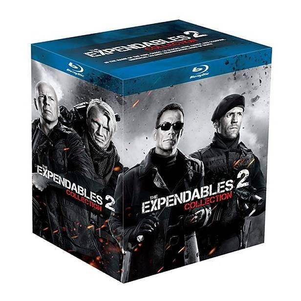 Expendables 2 - Action hero collection (Blu-ray) #dvd #bluray #actionherocollection