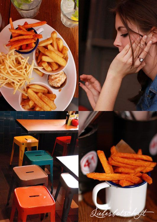 London / Gourmet Burger Kitchen Liebesbotschaft: London-Special Part II.: best food (+worst photo crasher ever)