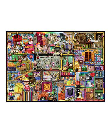 Another great find on #zulily! The Craft Cupboard 1,000-Piece Puzzle #zulilyfinds