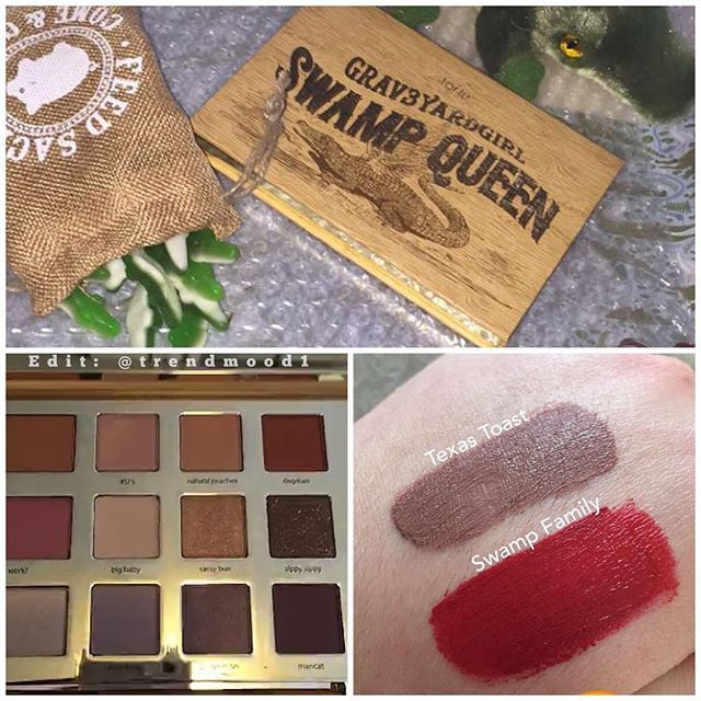 tarte cosmetics x grav3yardgirl bunny swamp queen palette eyeshadows blush bronzer and. Black Bedroom Furniture Sets. Home Design Ideas