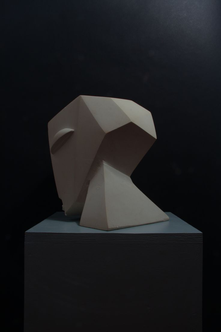 """Caput"" - Hand carved Maltese limestone"