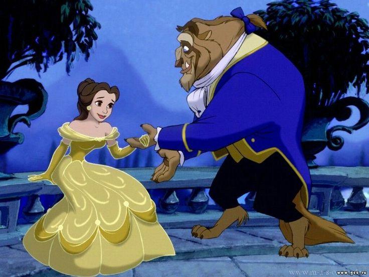 Disney Beauty and the Beast Cartoons