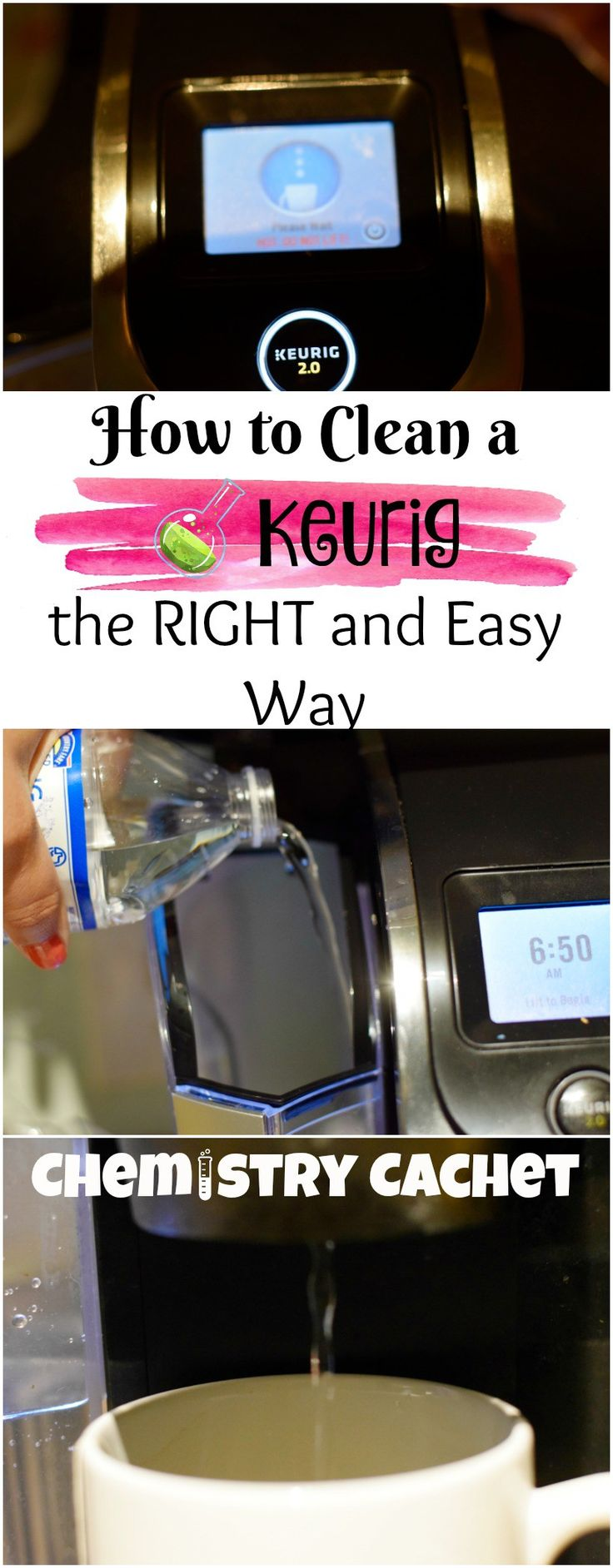 How to clean my Keurig, the right and easy way! Clean a keurig machine on chemistrycachet.com