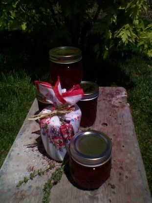 Strawberry-Thyme Jam | Canning for the future | Pinterest