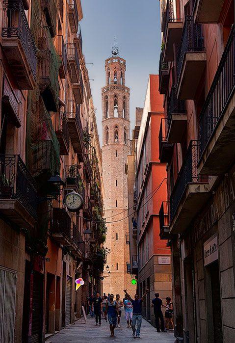 Santa Maria del Mar. Barri Gótic, Barcelona